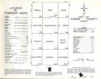 Index Map, Adams County 1962